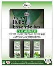 """Parfumuri și produse cosmetice Set de uleiuri esențiale """"Pentru o respirație ușoară""""  - Galeo To Help You Breath Gift Set (ess/oil/3x10ml)"""