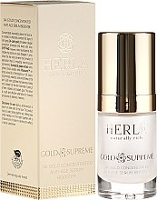 Parfumuri și produse cosmetice Ser facial - Herla Gold Supreme 24K Gold Concentrated Anti-Age Serum Booster