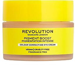 Parfumuri și produse cosmetice Cremă corectatoare pentru ochi - Revolution Skincare Pigment Boost Colour Correcting Eye Cream
