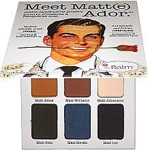 Parfumuri și produse cosmetice Paleta fard de ochi - TheBalm Meet Matt(e) Ador Matte Eyeshadow Palette