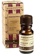 """Parfumuri și produse cosmetice Ulei esențial """"Lemongrass"""" - Botanika Lemongrass Essential Oil"""