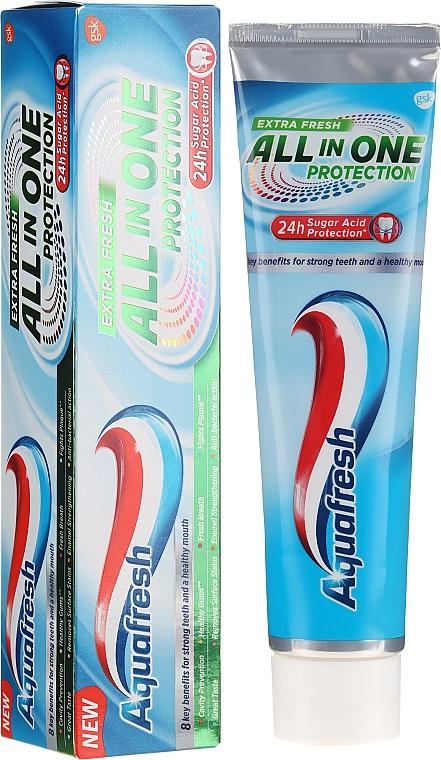 Pastă de dinți - Aquafresh All In One Protection Extra Fresh — Imagine N1