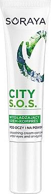 Cremă pentru pleoape - Soraya City S.O.S. Eye Cream-Compress — Imagine N1