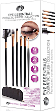 Parfumuri și produse cosmetice Set pensule pentru machiaj - Rio Eye Essentials Cosmetic Brush Collection