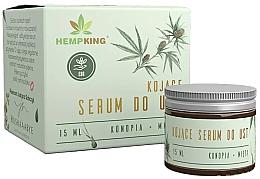 Parfumuri și produse cosmetice Успокаивающая сыворотка для губ из конопли с CBD - Hempking Soothing Hemp Lip Serum With CBD