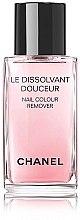 Parfumuri și produse cosmetice Soluție pentru îndepărtarea ojei - Chanel Le Dissilvant Douceur Nail Colour Remover