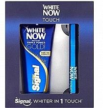 Parfumuri și produse cosmetice Set - Signal White Now Toothpaste (Toothpaste/50ml+bleach/pen/2ml)