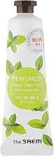 "Parfumuri și produse cosmetice Antiseptic parfumat ""Ceai verde proaspăt"" - The Saem Perfumed Pure Green Tea Hand Clean Gel"