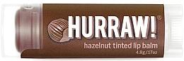 "Parfumuri și produse cosmetice Balsam de buze ""Hazelnut"" - Hurraw! Hazelnut Tinted Lip Balm"