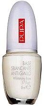 Parfumuri și produse cosmetice Lac de bază - Pupa Whitening Base