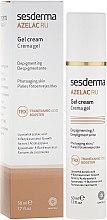 Parfumuri și produse cosmetice Cremă pentru depigmentare - SesDerma Laboratories Azelac Ru Gel Cream