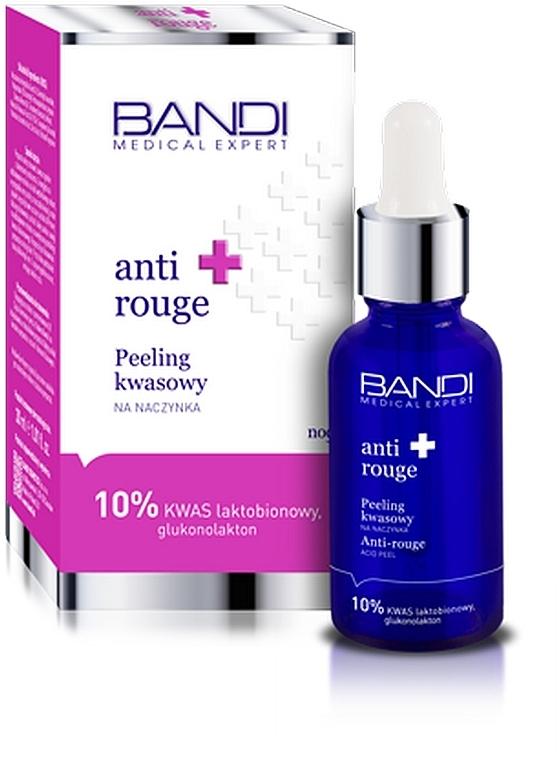 Peeling acid pentru ten sensibil și cuperozic - Bandi Medical Expert Anti Rouge Acid Peel