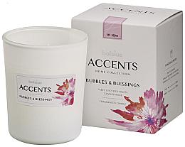 "Parfumuri și produse cosmetice Lumânare aromatică în borcan ""Bubbles & Blessings"" 92/76 - Bolsius Aromatic"