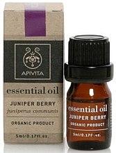 "Parfumuri și produse cosmetice Ulei esențial ""Juniperus"" - Apivita Aromatherapy Organic Juniper Oil"