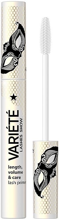 Bază pentru mascara - Eveline Cosmetics Variete Lashes Show Length Volume&Care Lash Primer