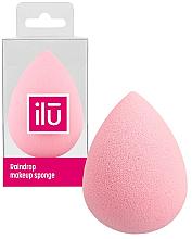 Parfumuri și produse cosmetice Burete pentru machiaj - Ilu Sponge Raindrop Pink
