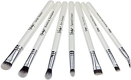 Parfumuri și produse cosmetice Set de pensule machiaj - Nanshy Eye Brush Set P. White (Brush/7)