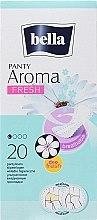 Духи, Парфюмерия, косметика Absorbante Panty Aroma Fresh, 20bucăți - Bella