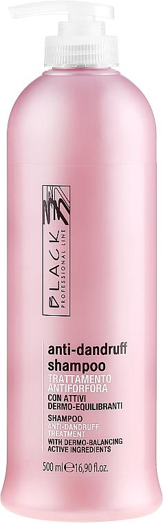Șampon împotriva mătreții - Black Professional Line Anti-Dandruff Shampoo