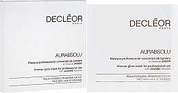 Parfumuri și produse cosmetice Mască de față - Decleor Aurabsolu Intense Glow Mask