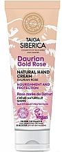 """Parfumuri și produse cosmetice Cremă protectoare pentru mâini """"Rosa davurica"""" - Natura Siberica Doctor Taiga Hand Cream"""