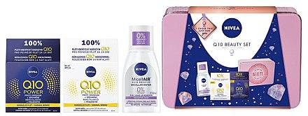 Set - Nivea Q10 Beauty Set (micel/water/100ml + cream/50ml + cream/50ml) — Imagine N2