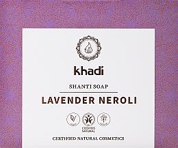 Parfumuri și produse cosmetice Săpun natural cu ulei de lavandă și neroli - Khadi Lavender Neroli Shanti Soap