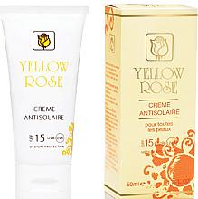 Parfumuri și produse cosmetice Cremă protecție solară SPF15 - Yellow Rose Creme Antisolaire SPF 15