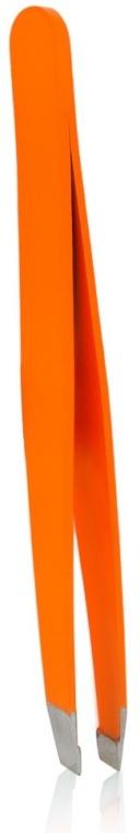 """Pensetă """"Neon Show"""", 4108, orange - Donegal Slant Tip Tweezers"""