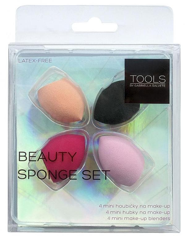 Set bureți de machiaj - Gabriella Salvete Tools Beauty Sponge Set (4buc)