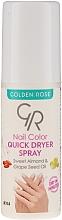 Духи, Парфюмерия, косметика Сушка-спрей для ногтей - Golden Rose Nail Quick Dryer Spray