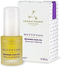 Parfumuri și produse cosmetice Ulei matifiant de curățare pentru față - Aromatherapy Associates Mattifying Refining Face Oil