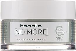 Parfumuri și produse cosmetice Mască naturală de păr - Fanola No More The Styling Mask