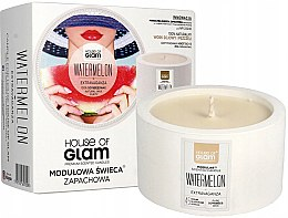 Parfumuri și produse cosmetice Lumânare aromată - House of Glam Watermelon Extravaganza Candle