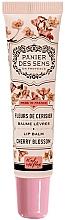 """Parfumuri și produse cosmetice Balsam cu unt de shea pentru buze """"Floare de vișin"""" - Panier des Sens Lip Balm Shea Butter Cherry Blossom"""