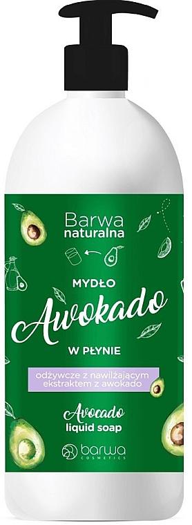 Săpun lichid - Barwa Natural Avocado Soap