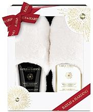 Parfumuri și produse cosmetice Set - Baylis & Harding Sweet Mandarin & Grapefruit (f/lot/140ml + f/crystals/100g + slippers)