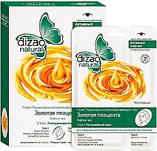"""Parfumuri și produse cosmetice Mască în două etape pentru ochi """"Placentă de aur"""" - Dizao"""