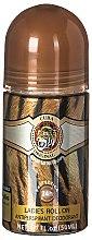 Parfumuri și produse cosmetice Cuba Jungle Tiger - Deodorant roll-on
