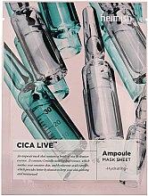 Parfumuri și produse cosmetice Mască de față - Heimish Cica Live Ampoule Mask