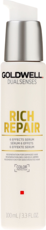 Ser pentru păr uscat și deteriorat - Goldwell Dualsenses Rich Repair 6 Effects Serum