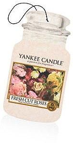 """Odorizant pentru maşină """"Rose"""" - Yankee Candle Fresh Cut Roses Jar Ultimate — Imagine N1"""