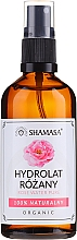 Parfumuri și produse cosmetice Apă naturală de trandafiri - Shamasa Rose Water