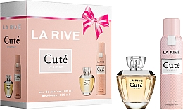 Parfumuri și produse cosmetice La Rive Cute Woman - Set (edp/100ml + deo/150ml)