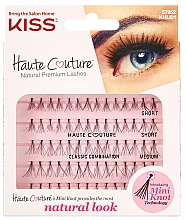 Parfumuri și produse cosmetice Gene false, smocuri - Kiss Haute Couture Natural Premium Lashes