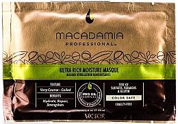 Parfumuri și produse cosmetice Mască hidratantă de păr - Macadamia Professional Oil Ultra Rich Moisture Masque (mostră)