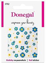 Parfumuri și produse cosmetice Abțibilduri pentru unghii, 3702 - Donegal