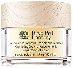 Parfumuri și produse cosmetice Cremă regenerantă pentru față - Origins Three Part Harmony Soft Cream