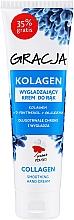 Parfumuri și produse cosmetice Cremă de mâini cu efect de netezire și colagen - Miraculum Gracja Collagen Hand Cream