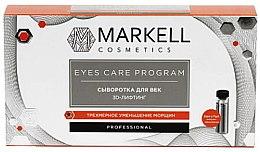 Parfumuri și produse cosmetice Ser pentru pleoape 3D-Lifting - Markell Professional